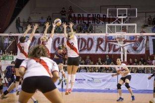 River buscará el título metropolitano femenino de vóleibol ante San Lorenzo