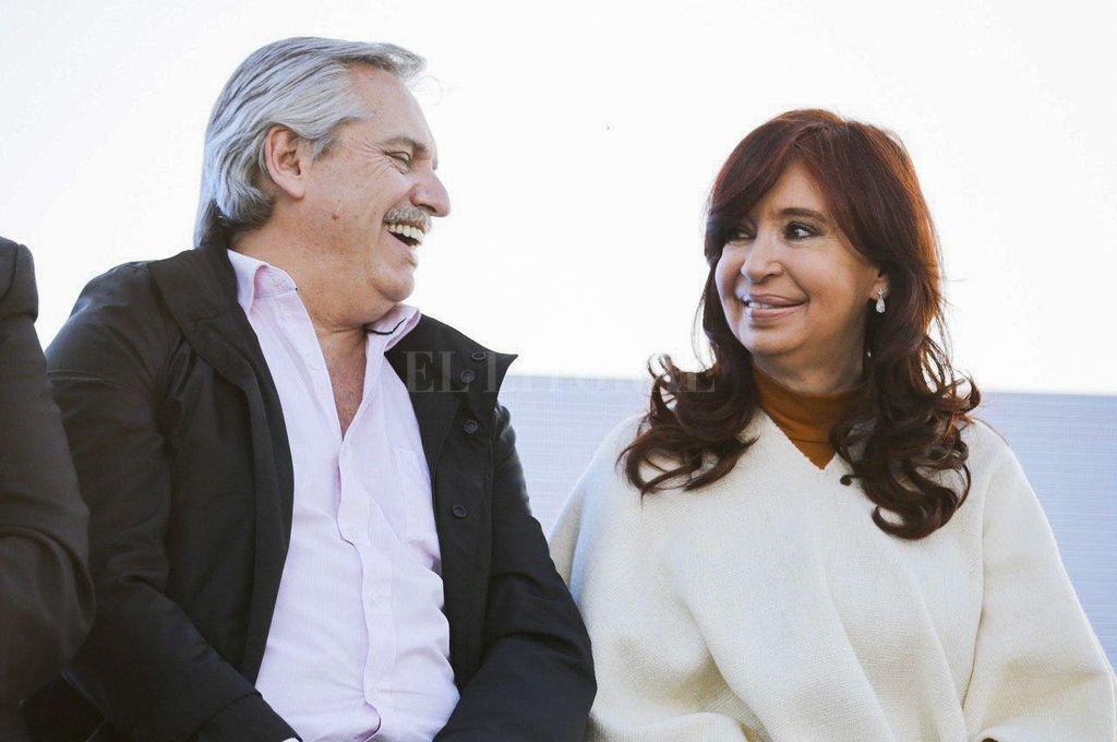 Alberto Fernández y Cristina Fernández asumirán el 10 de diciembre un gobierno preñado de conflictos internos. <strong>Foto:</strong> Archivo El Litoral