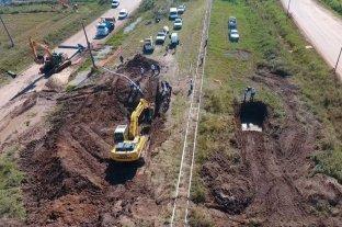 Llegaron los fondos y se retoman los trabajos en el acueducto Desvío Arijón