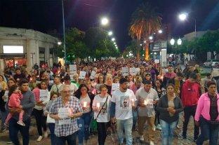 Rafaela: masiva marcha pidió justicia por Emanuel