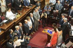Juraron los nuevos senadores y confirmaron a Ledesma como presidenta provisional