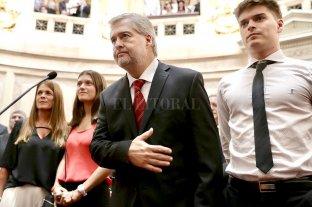 Mirabella juró en el Senado nacional en reemplazo de Omar Perotti