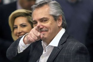 Alberto Fernández tuvo una noche a puro Twitter