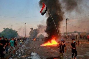 Al menos 13 muertos por protestas en Irak