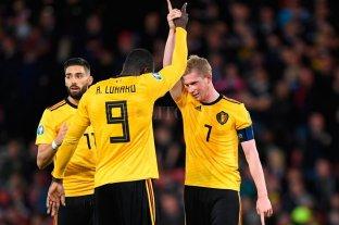 Bélgica lidera el ranking FIFA