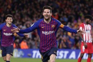 Messi se hizo cargo