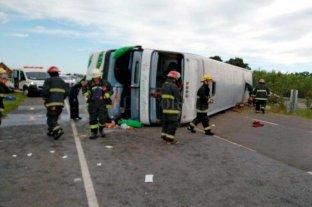 """Dos niños fueron trasladados a La Plata en """"grave estado"""" tras el accidente en ruta 2"""