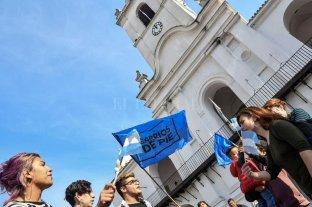 Barrios de Pie reclamó en Plaza de Mayo un bono de fin de año