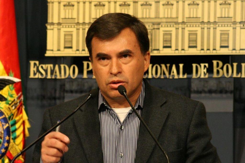Juan Ramón Quintana, ex ministro de Presidencia de Bolivia.    Crédito: Gentileza