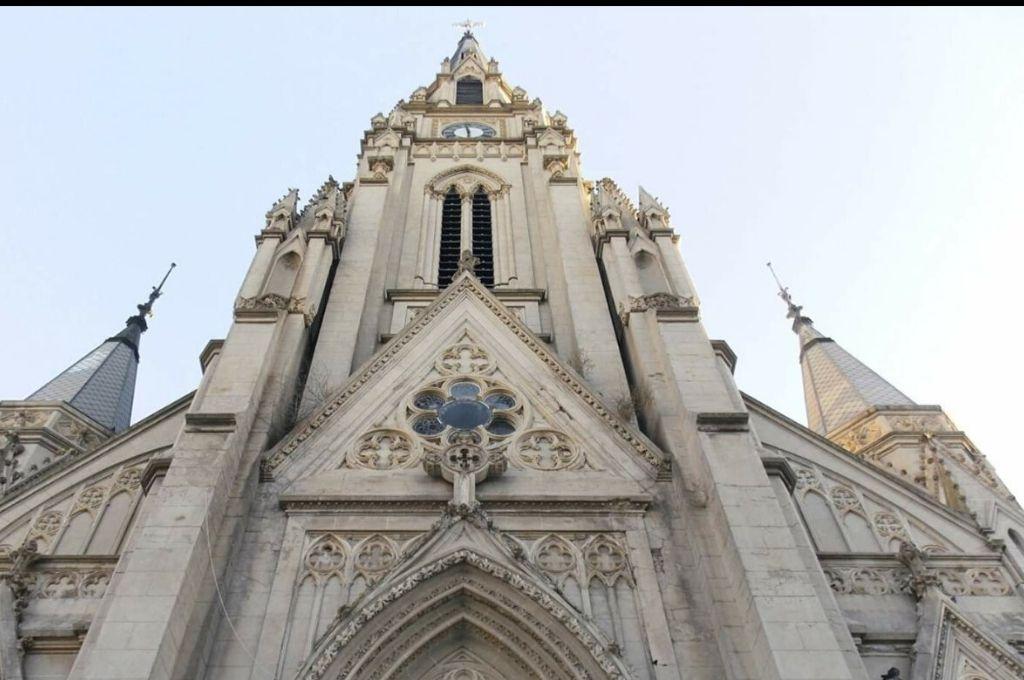 Basílica Nuestra Señora de Luján.    <strong>Foto:</strong> Redes sociales