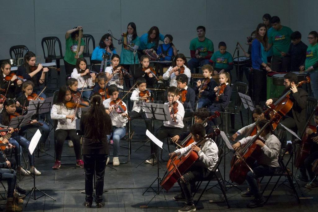 SOS Música en Concierto, junto a Sonando Vínculos. Sala Mayor del Teatro Municipal. <strong>Foto:</strong> Gentileza Prensa Gobierno de la Ciudad