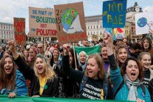 Masiva protesta en Sídney contra el cambio climático
