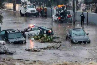 Tras fuertes lluvias en Chihuahua, una mujer muere arrastrada por corriente de agua
