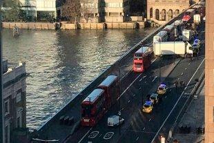 Un detenido y varios heridos en un grave incidente en el Puente de Londres