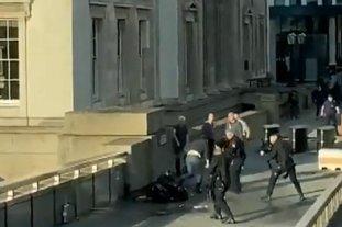 """La policía británica mató al atacante del """"incidente terrorista"""" en el Puente de Londres"""