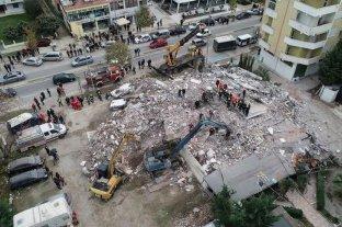 Dan por finalizada la búsqueda de sobrevivientes tras terremoto en Albania