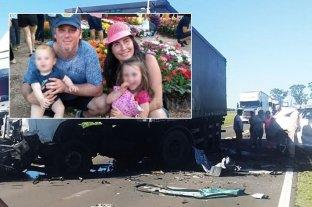 Un matrimonio y sus dos nenes murieron tras un choque frontal en Paso de los Libres