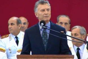 """Macri: """"Modernizamos nuestras fuerzas para que estén a la altura de los desafíos del siglo XXI"""""""