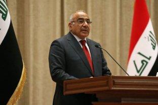 Renunció el primer ministro de Irak tras la muerte de 40 manifestantes