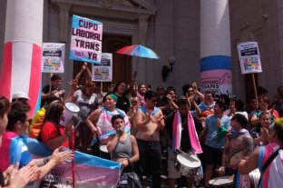 Se promulgó la ley de cupo laboral trans en Santa Fe