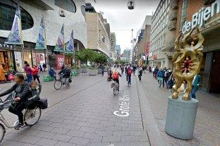 Ataque con arma blanca en una calle comercial de La Haya