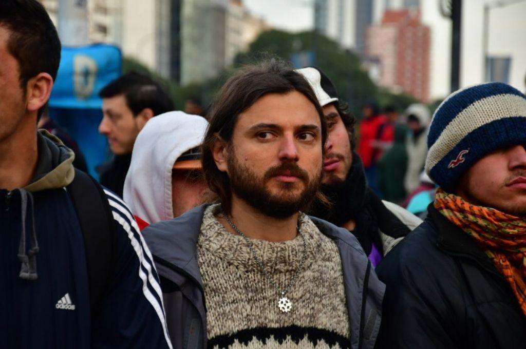 Juan Grabois, dirigente de la CTEP.    Crédito: Gentileza