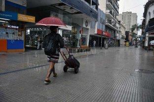 Llovió a la madrugada y sigue el tiempo inestable en la ciudad