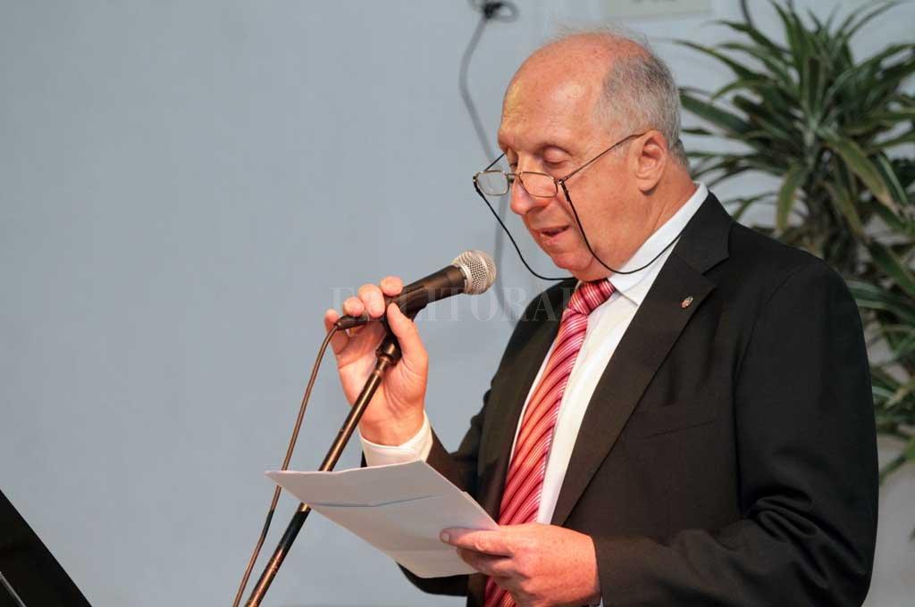 Roitman agradeció el apoyo que la entidad tuvo de los gobiernos provincial y municipal durante los últimos años. Crédito: Pablo Aguirre