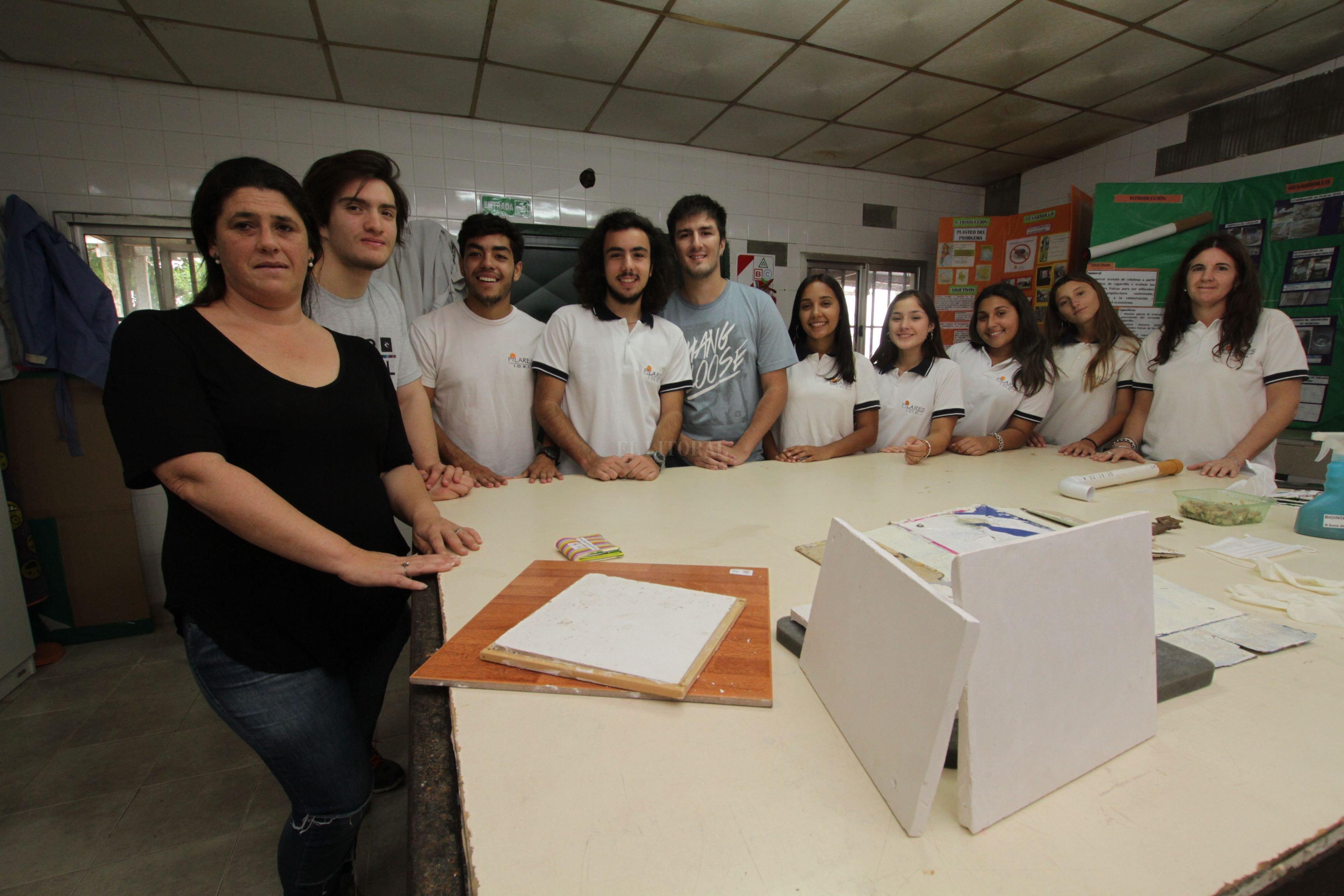 Integrantes del equipo de trabajo Crédito: Mauricio Garín