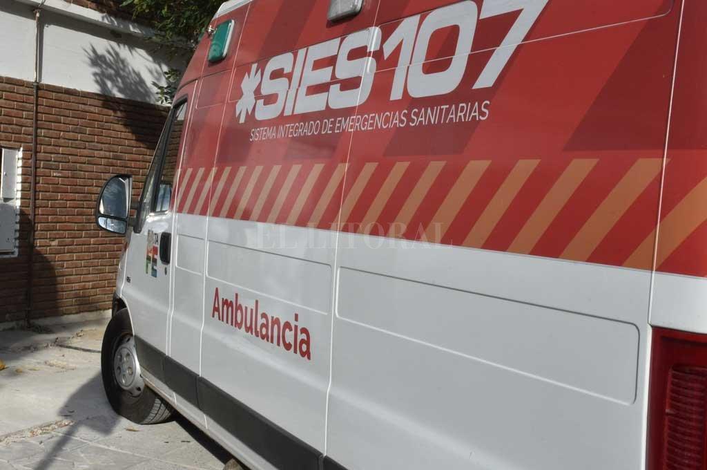 Una unidad de emergencia trabajó en el lugar (Imagen ilustrativa) <strong>Foto:</strong> Guillermo Di Salvatore