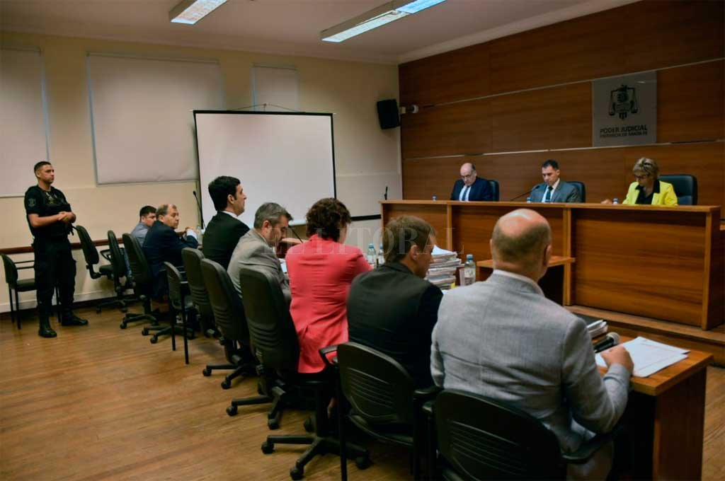 Primera jornada del juicio Crédito: Flavio Raina