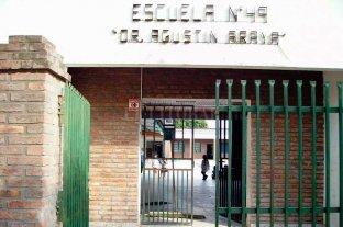 Robaron en una escuela de Santo Tomé