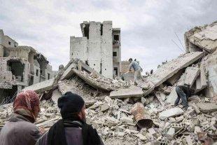 Al menos 96 muertos se registraron en los combates en el noroeste de Siria