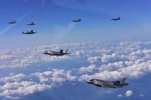 Washington eleva los controles aéreos sobre Corea del Norte