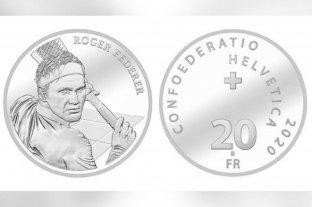 Suiza acuñará monedas de oro y plata con la efigie de Roger Federer