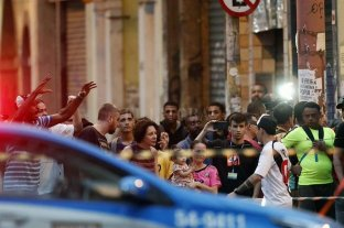 Nueve muertos tras estampida humana en Sao Paulo