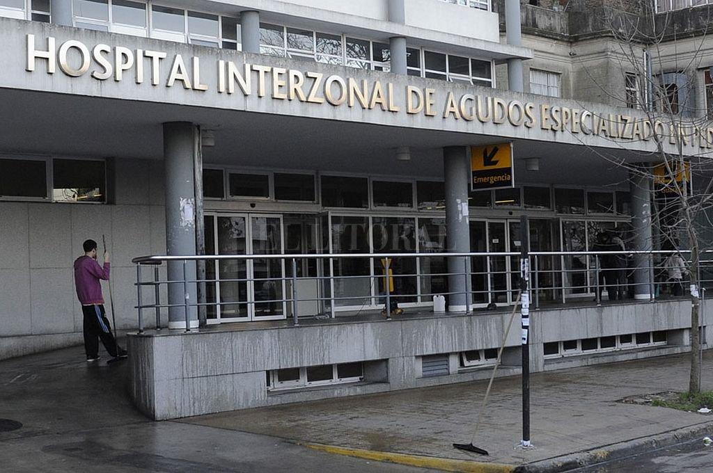 Hospital de Niños de La Plata. <strong>Foto:</strong> Captura digital