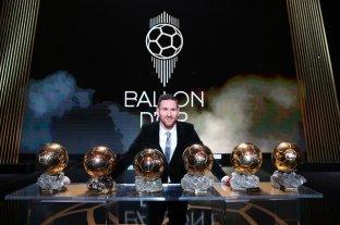 Messi ganó de su sexto Balón de Oro