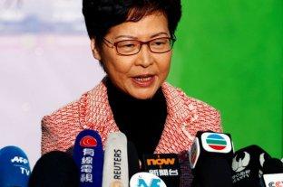 Lam condena la aprobación de EEUU de la Ley de Derechos Humanos y Democracia de Hong Kong