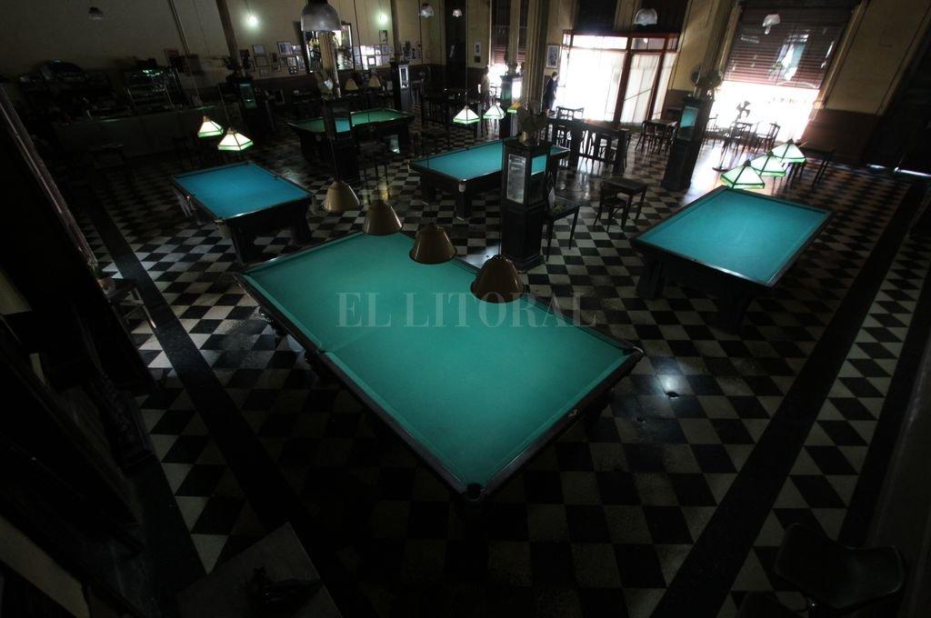 Tiene su historia el nombre del bar que alojó la conferencia de prensa. <strong>Foto:</strong> Mauricio Garín
