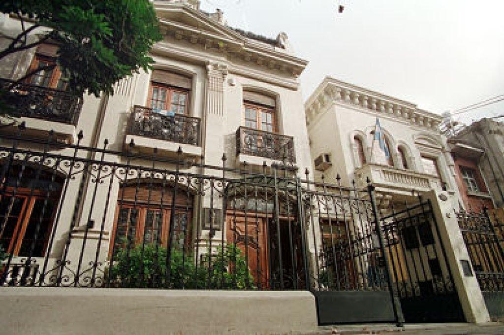 Casa del Foro de Rosario <strong>Foto:</strong> Archivo