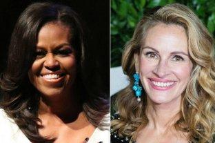 Julia Roberts y Michelle Obama, juntas por los derechos de las niñas y adolescentes