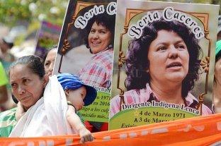 Cincuenta años de cárcel para asesinos de Berta Cáceres