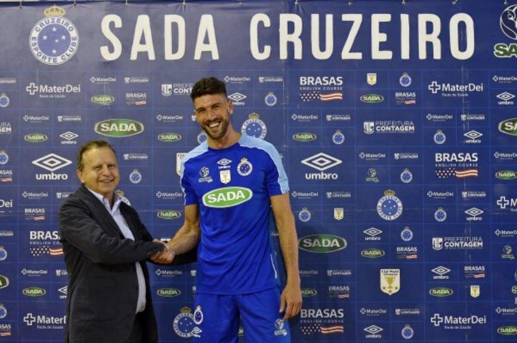 Facundo Conte, jugador de Sada Cruzeiro y de la Selección Argentina.    <strong>Foto:</strong> Gentileza