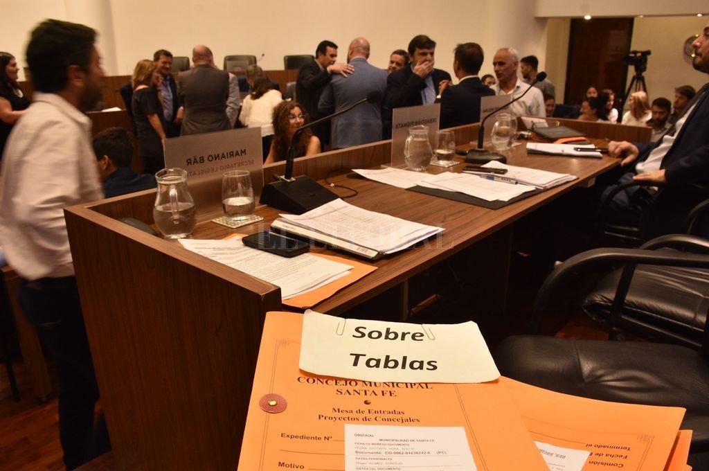 Adecuación y después. Se cerró en el Concejo un capítulo complejo y lleno de polémicas. Crédito: Guillermo Di Salvatore