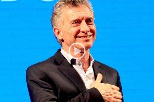 """Macri, sobre Alberto Fernández: """"Dice demasiadas cosas y eso no es bueno para un presidente"""""""
