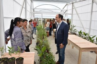 Se inauguró un Vivero de Sitio en la Reserva Natural Urbana del Oeste