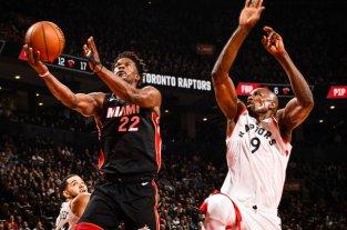 NBA: Miami Heat venció al campeón Toronto Raptors