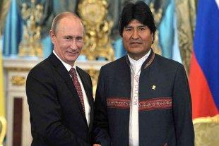 """Evo Morales: """"Quiero que haya presencia de Rusia en América Latina"""""""