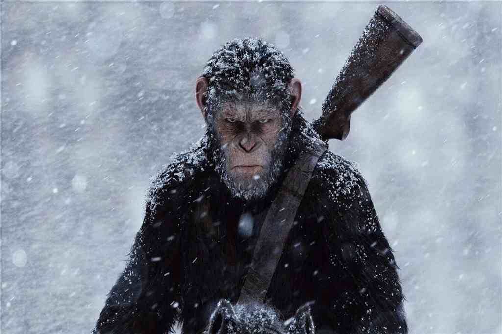 Imagen de la película 'La guerra del planeta de los simios' Crédito: Gentileza